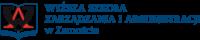 Logo, partner, Wyższa szkoła zarządzania i administracji